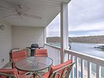 Sip your morning coffee on the balcony overlooking one of 3 outdoor pools and the lake.