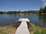 Private dock. Pine Mountain Lake Lakefront Sierra Lakeshore Escape Unit 4 Lot 109. All images are copyrighted and the...