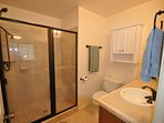 Master bathroom. View 2. Pine Mountain Lake Lakefront Sierra Lakeshore Escape Unit 4 Lot 109. All images are...