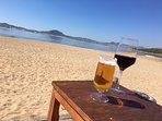 Beach on Mar Menor within close walking distance with beach bar.