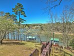 Edgemont Home- On Greers Ferry Lake w/Private Dock