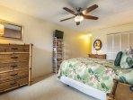 Camera da letto 1 con letto matrimoniale e TV