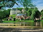 The beautiful Chateau and village of Apremont are only 5 minutes away.