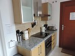 LARGE KITCHEN WITH ELECTRIC HOB AND OVEN