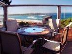 'Wabi Tei' Serenity with Panoramic Ocean View. Hot Tub, Bbq, Xbox, Wifi, Pets Ok