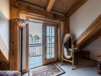 French Doors to Private Deck