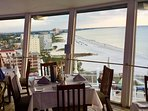 Revolving restaurant nearby with stunning views!