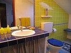 A3blue(2): bathroom with toilet