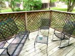 out-door sitting area...peaceful and quiet