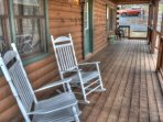 Rocking chair front covered porch