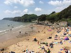 Caswell Bay Beach