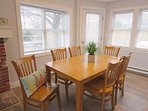 Open dining area- seats 6 - 11 Oyster Drive Chatham Cape Cod New England Vacation Rentals