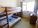 Bunk room - beds are normal single sized suitable for adults and children.