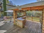Step outside to the gazebo for an afternoon BBQ.