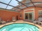 Splash pool for relaxing