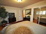 Guest bedroom, view 2, Queen. Unit 1 Lot 100 Pine Mountain Lake Vacation Rental Creme de la Creme
