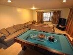 Bonus room, 1st floor, Unit 5 Lot 133, dog friendly Pine Mountain Lake vacation rental Cloon Brook