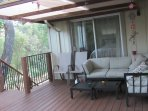 Pine Mountain Lake vacation rental Cloon Brook unit 5 lot 133, side deck