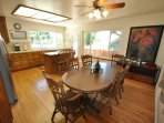 Eat-in kitchen, hardwood floors, small pet friendly, Unit 1 Lot 89 Pine Mountain Lake Golf Course View Vacation Rental...