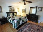 Guest bedroom, Queen. Unit 1 Lot 89 Pine Mountain Lake Golf Course View Vacation Rental Creme de la Creme %352