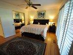 Master bedroom, King. Unit 1 Lot 89 Pine Mountain Lake Golf Course View Vacation Rental Creme de la Creme %352