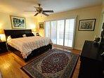 Master bedroom, view 2, King. Unit 1 Lot 89 Pine Mountain Lake Golf Course View Vacation Rental Creme de la Creme %352