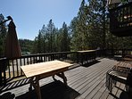 LOCATION! Front deck, Unit 4 Lot 49 LakeView Pine Mountain Lake Vacation Rental Escape At The Lake, 500feet to the Lake ...