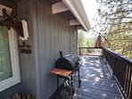 Side of the house, Unit 4 Lot 49 LakeView Pine Mountain Lake Vacation Rental Escape At The Lake, 500feet to the Lake ...