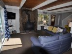 Living room, Unit 4 Lot 49 LakeView Pine Mountain Lake Vacation Rental Escape At The Lake, 500feet to the Lake Lodge ...