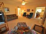 Living room, view 3, Pine Mountain Lake vacation rental Casa Del Lago