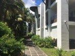 Résidence dans un superbe jardin tropical