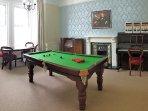 Churchill's games room