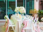 The Glasshouse is the perfect romantic setting for an intimate wedding celebration