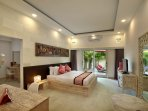 1 of 4 French/Balinese inspired bedrooms