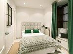 Bedroom No. 3 has a double bed.