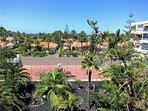 Garden with Tennis court