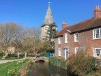 Historic Bosham church.