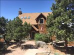 Quiet, mountain retreat home nestled high in the  Rocky Mountains at 8,500 feet.