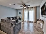 Summer Lake 35 -  Comfortable Living Room with Large HD TV