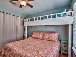 Summer Lake 35 - King Guest Bedroom with Bunk on Top