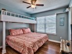 Summer Lake 35 - King Guest Bedroom with Bunk
