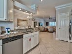 Silver Blessings - Kitchen with Living Area View