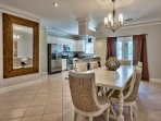 Silver Blessings - Dining Area with Kitchen View