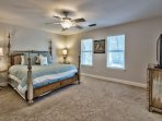 Silver Blessings - Second Floor Master Suite