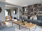umptuous interior designed sitting room