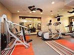 Property's fitness center / gym!