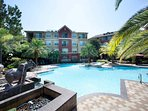 Swimming pool for the hotter houston days!