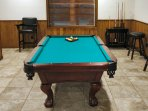 Challenge your friends to a game of pool