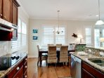 Kitchen Includes an Electric Range