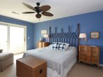 Wright By The Sea Master Bedroom